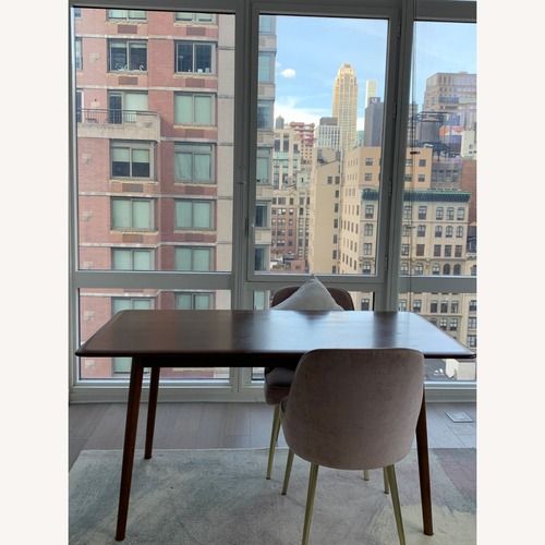 Used West Elm Mid-Century Upholstered Dining Chairs for sale on AptDeco
