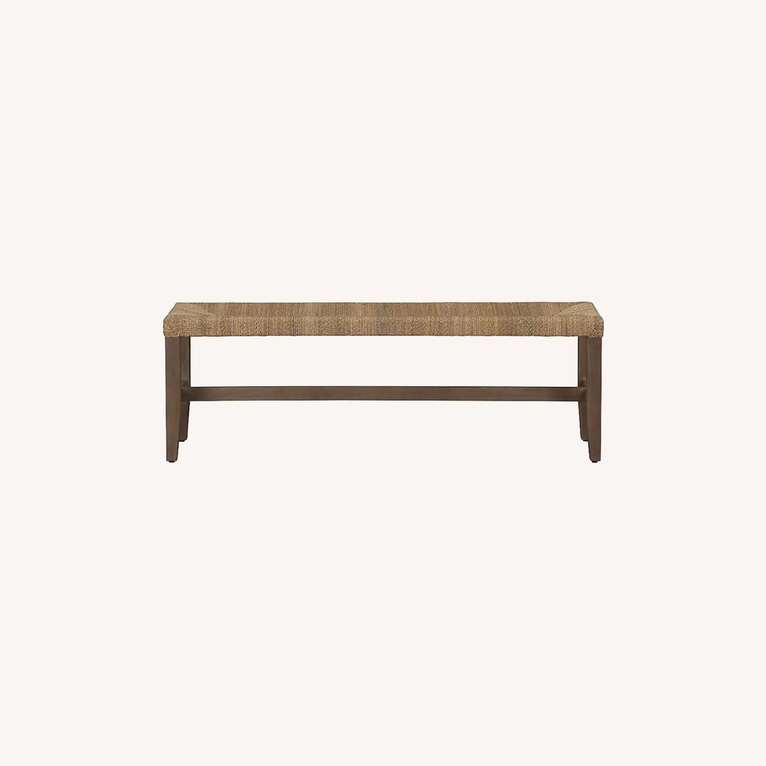Crate & Barrel Fiji Bench - image-0