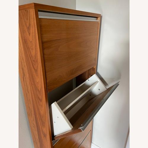 Used Wall Mount Shoe Cabinet for sale on AptDeco