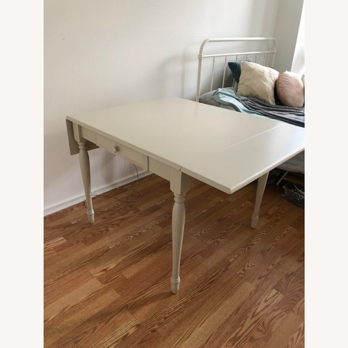 Used Wayfair Table for 4 with Dropleafs for sale on AptDeco