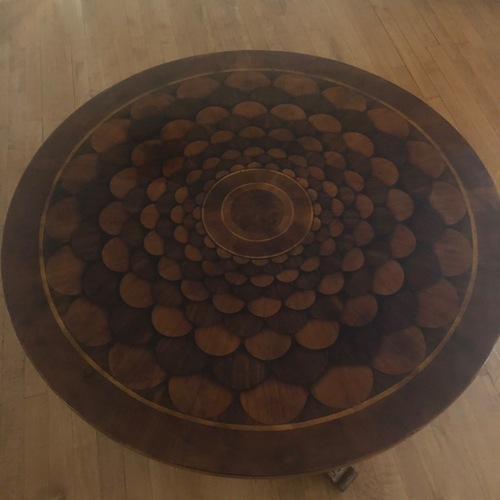 Used Handcrafted Accent Table for sale on AptDeco