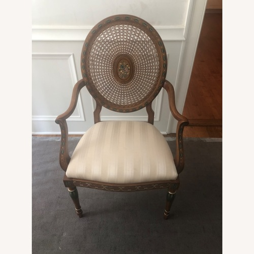 Used Hand Painted Occasional Chair for sale on AptDeco
