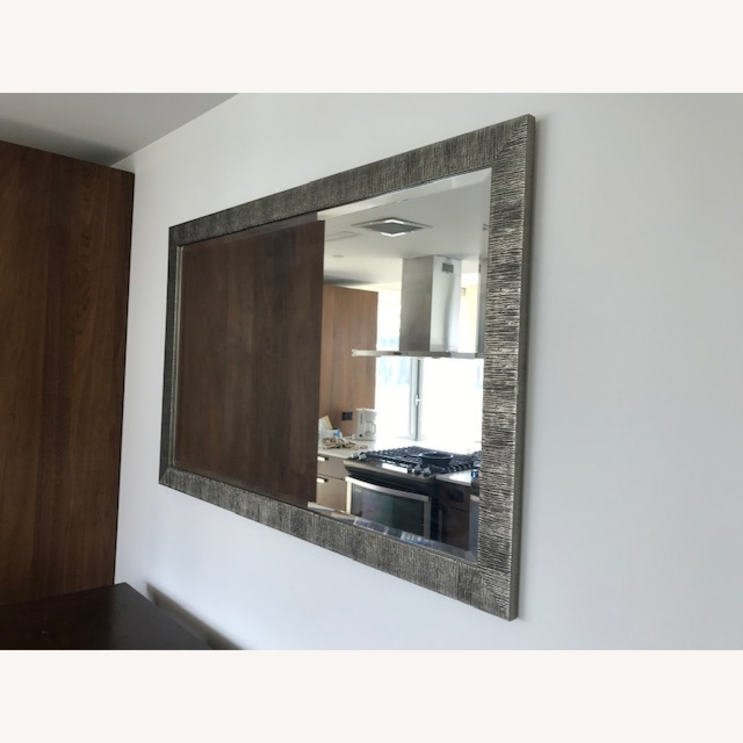 Crate & Barrel Siver Birch Wall Mirror - image-2