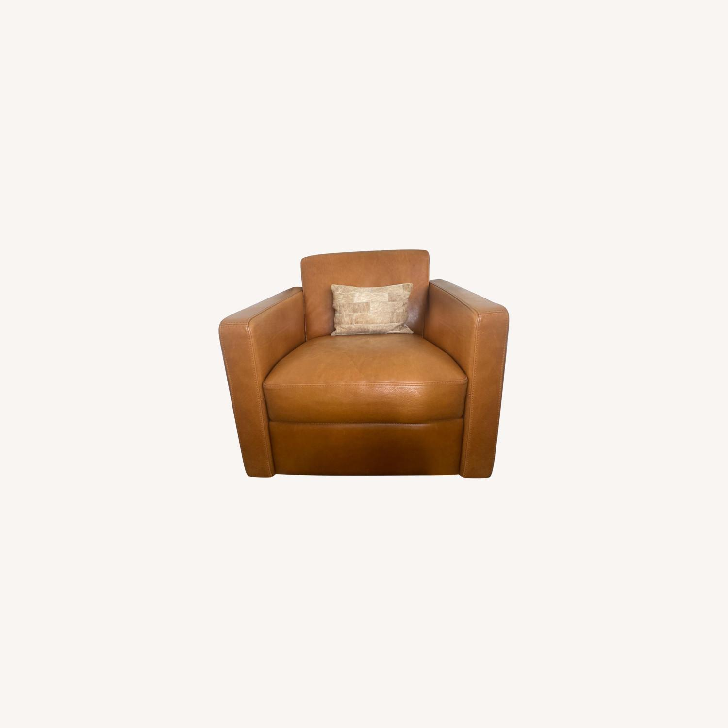 Bloomingdale's Chaise Lounge Sofa - image-0