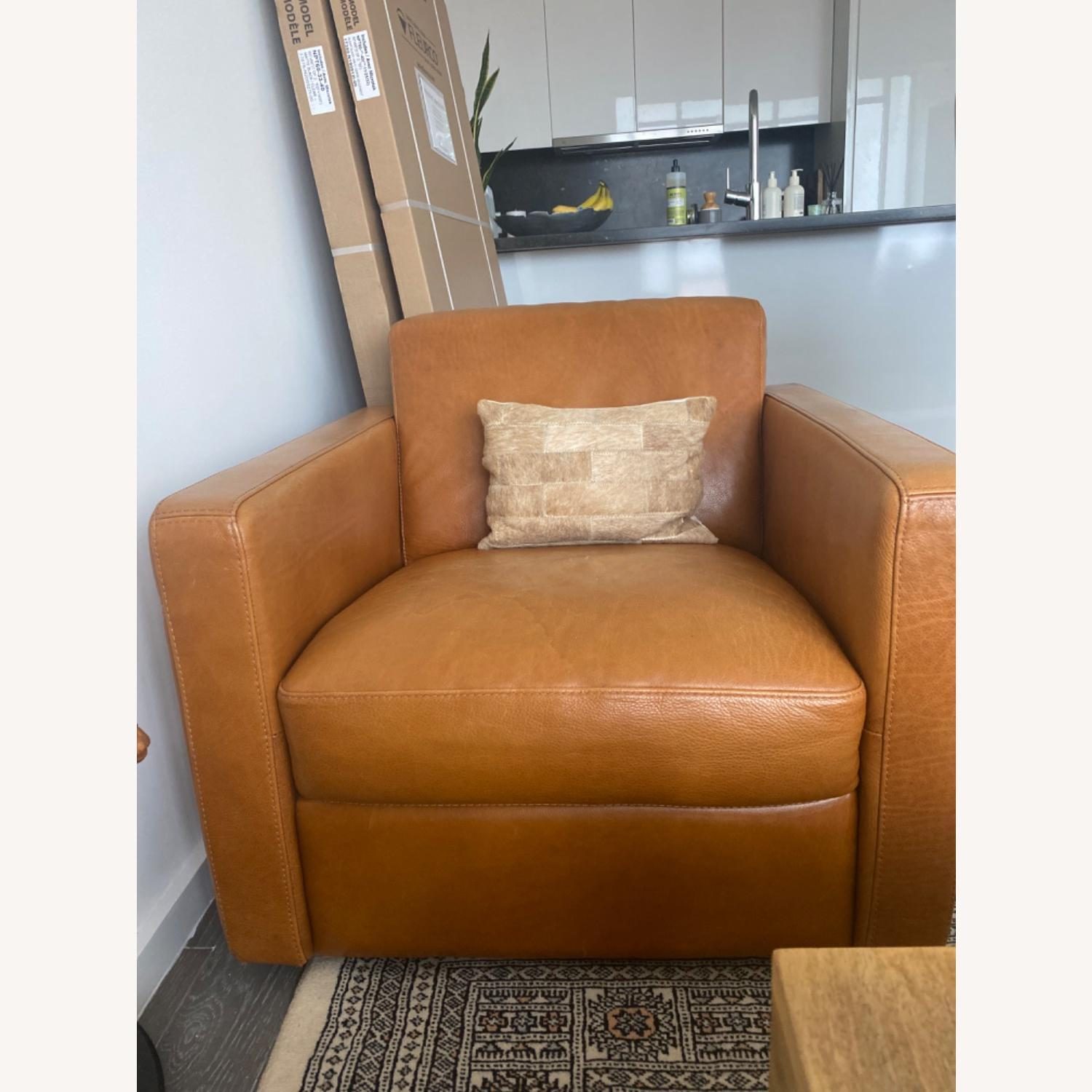 Bloomingdale's Chaise Lounge Sofa - image-1