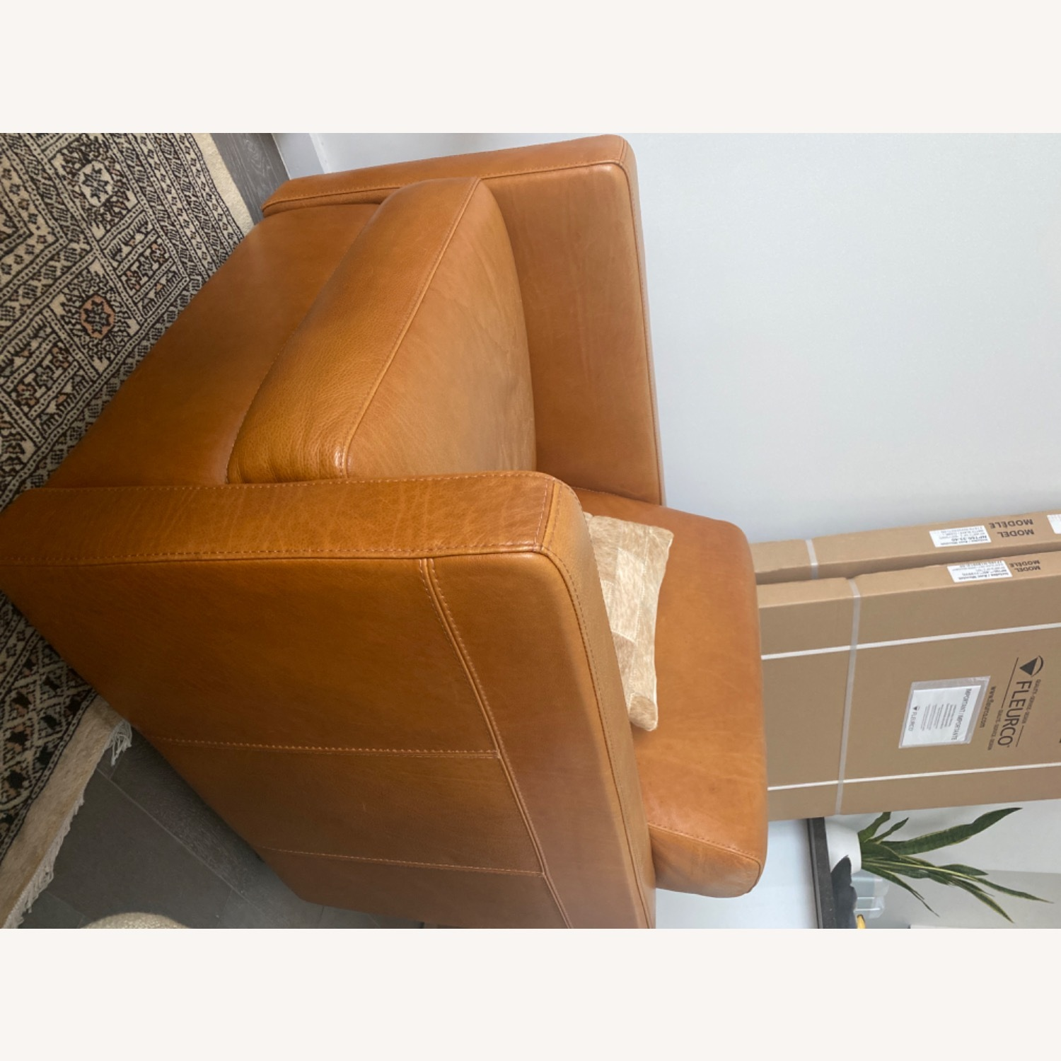 Bloomingdale's Chaise Lounge Sofa - image-3
