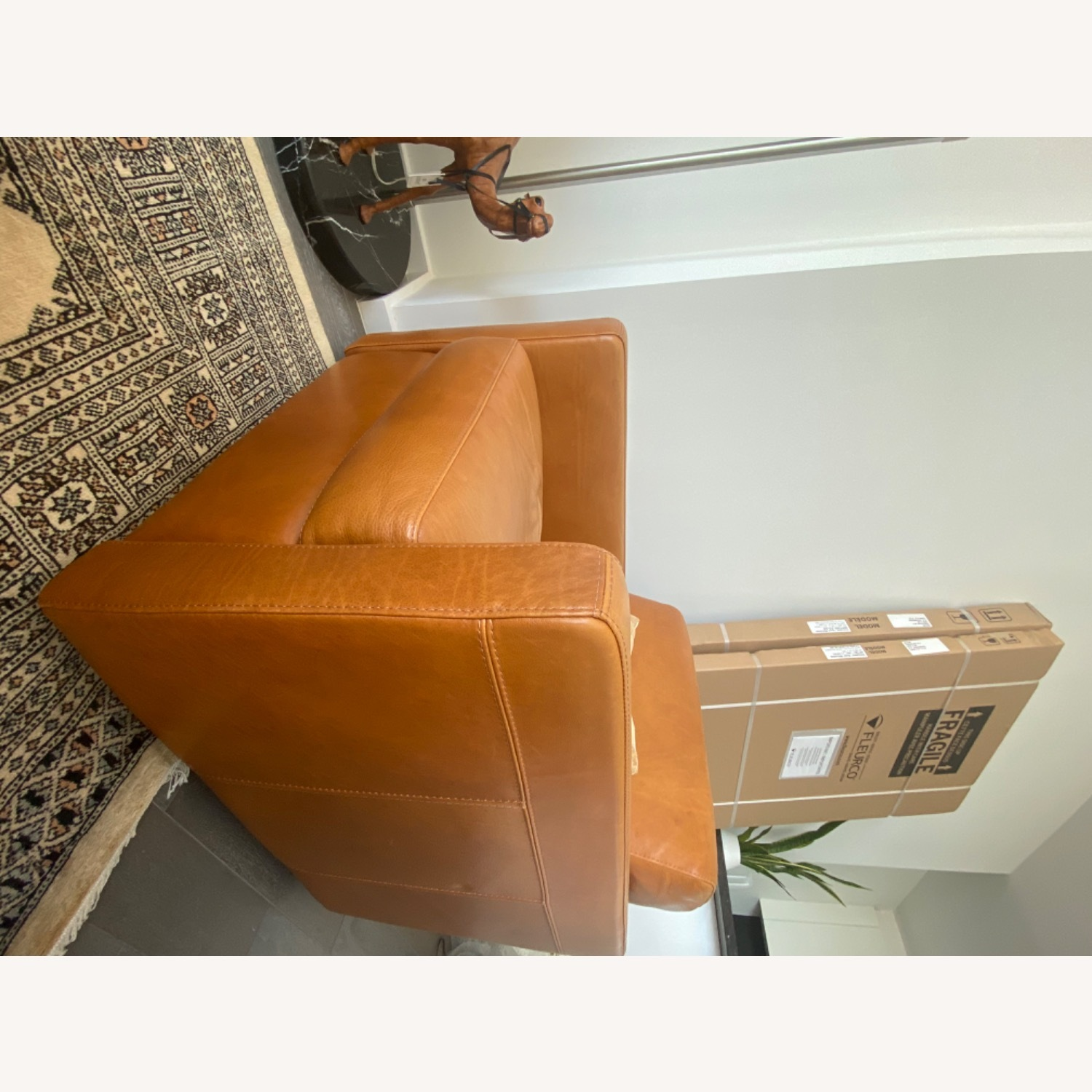 Bloomingdale's Chaise Lounge Sofa - image-2