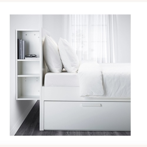 Used IKEA Brimnes Full Bed for sale on AptDeco