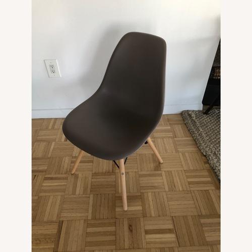 Used Wayfair Modern 4-piece Dining Chair Set for sale on AptDeco