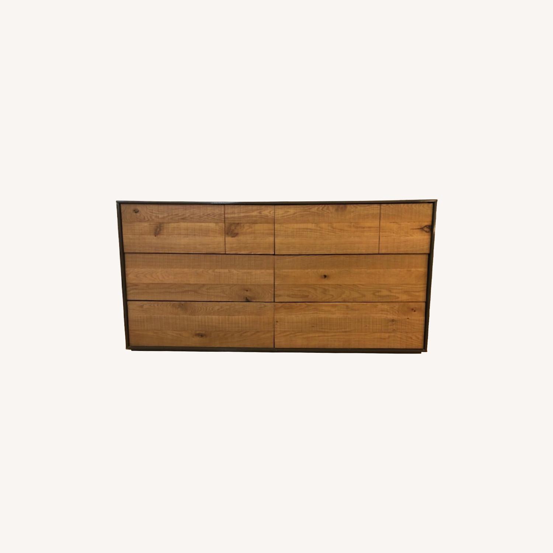 Crate & Barrel Cas Modern Rustic Dresser - image-0