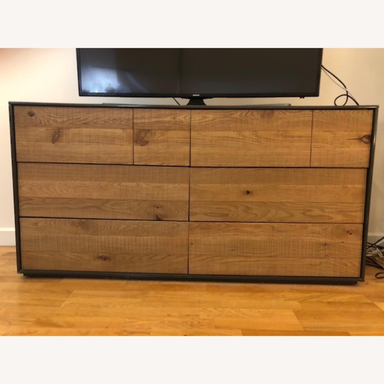 Crate & Barrel Cas Modern Rustic Dresser - image-1