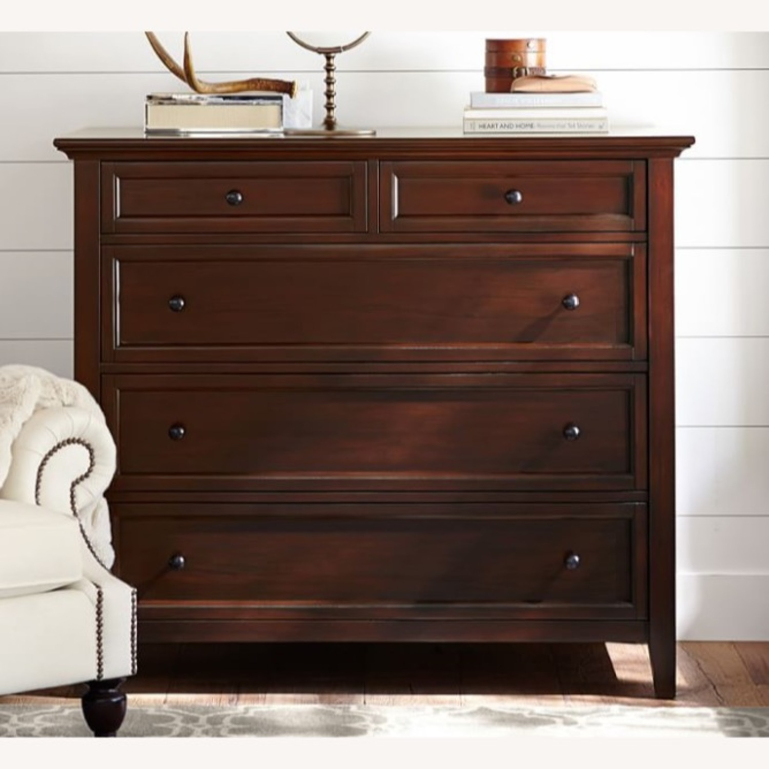 Pottery Barn Hudson 5-Drawer Dresser - image-1