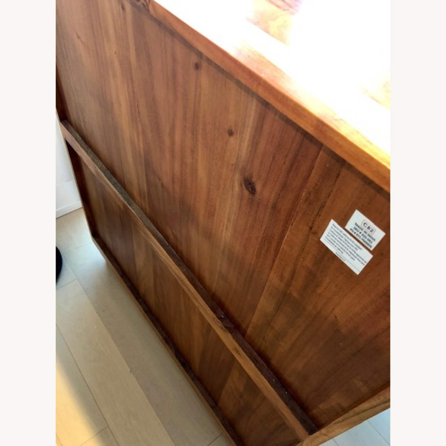 CB2 Edie Marble Inlay Tall Chest - image-6