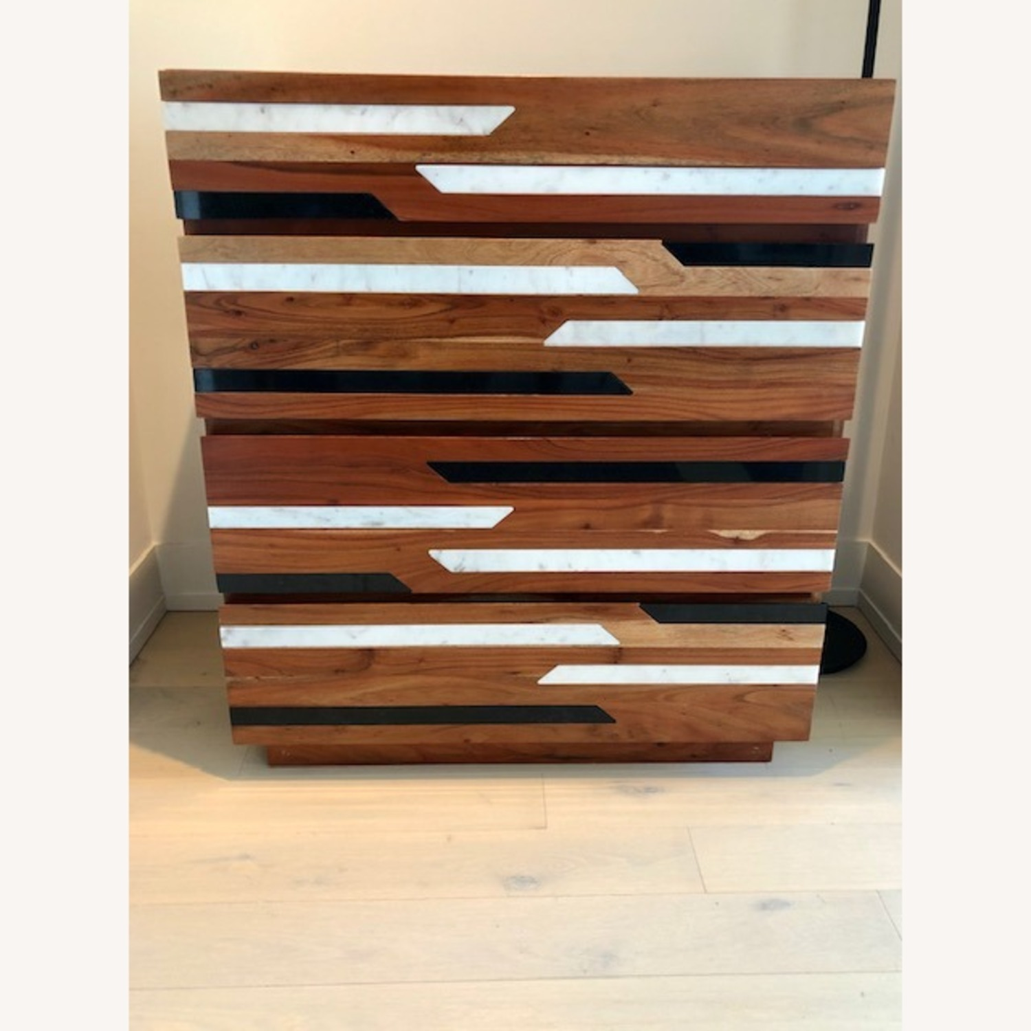 CB2 Edie Marble Inlay Tall Chest - image-8