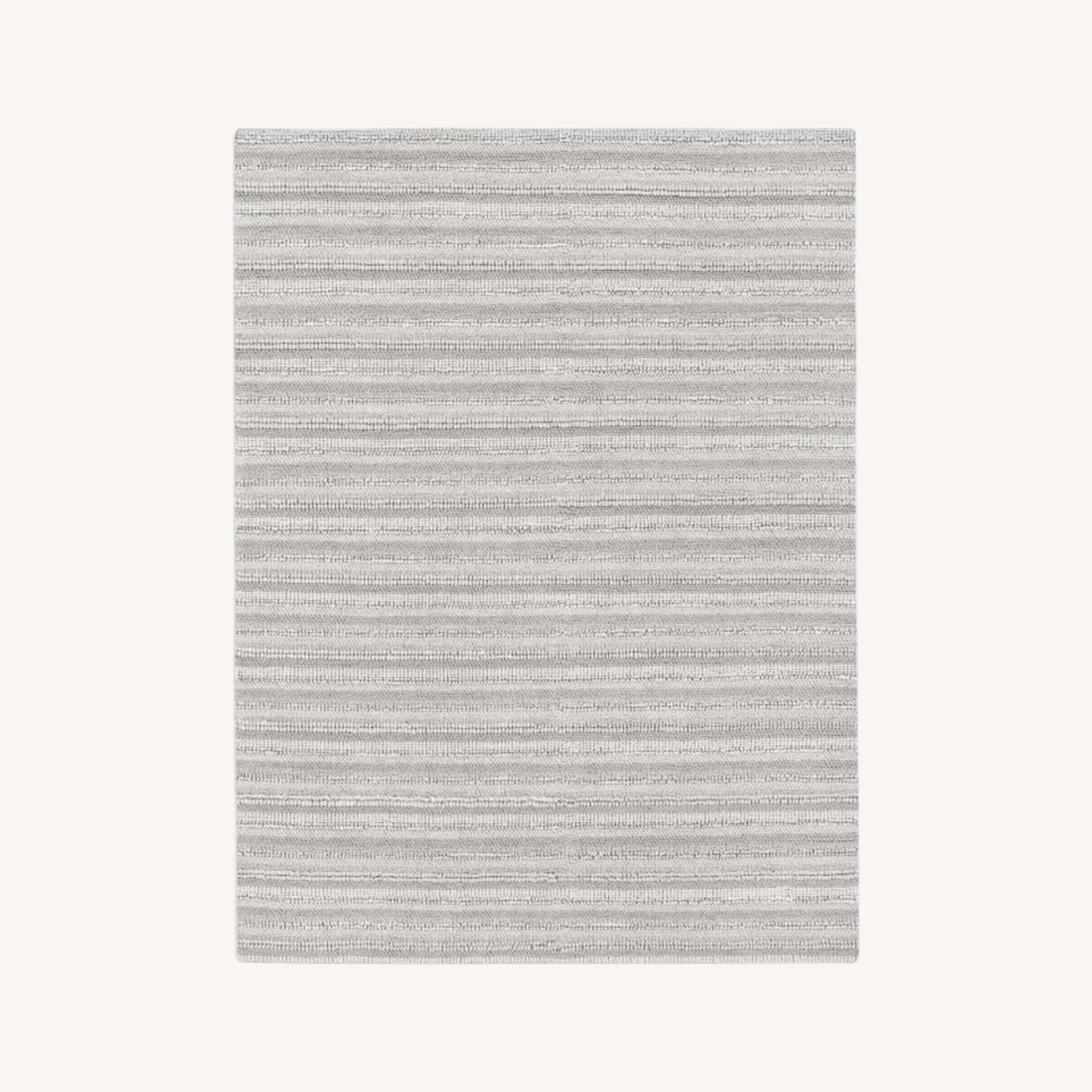 West Elm Stitched Mix Sweater Rug - image-0