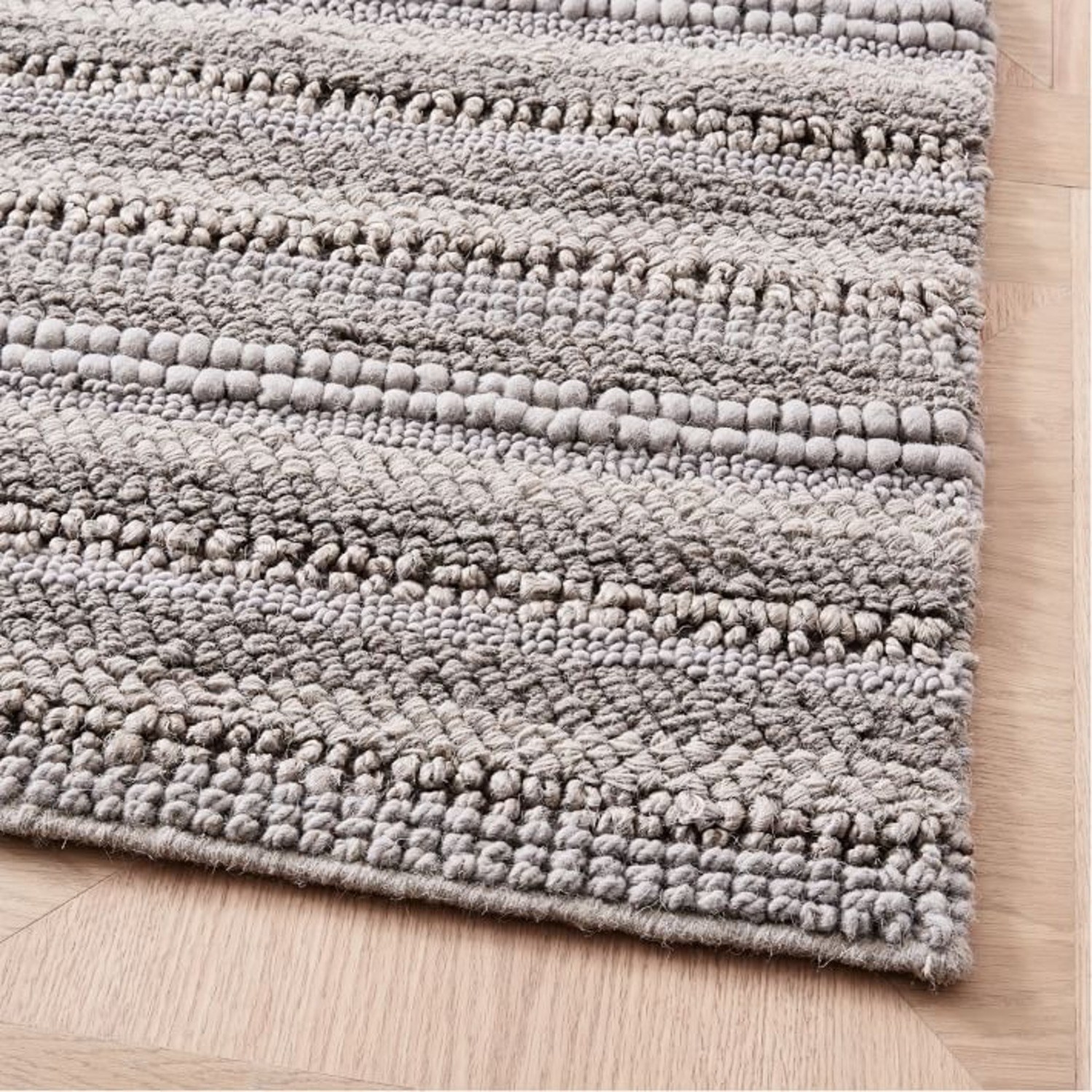 West Elm Stitched Mix Sweater Rug - image-2
