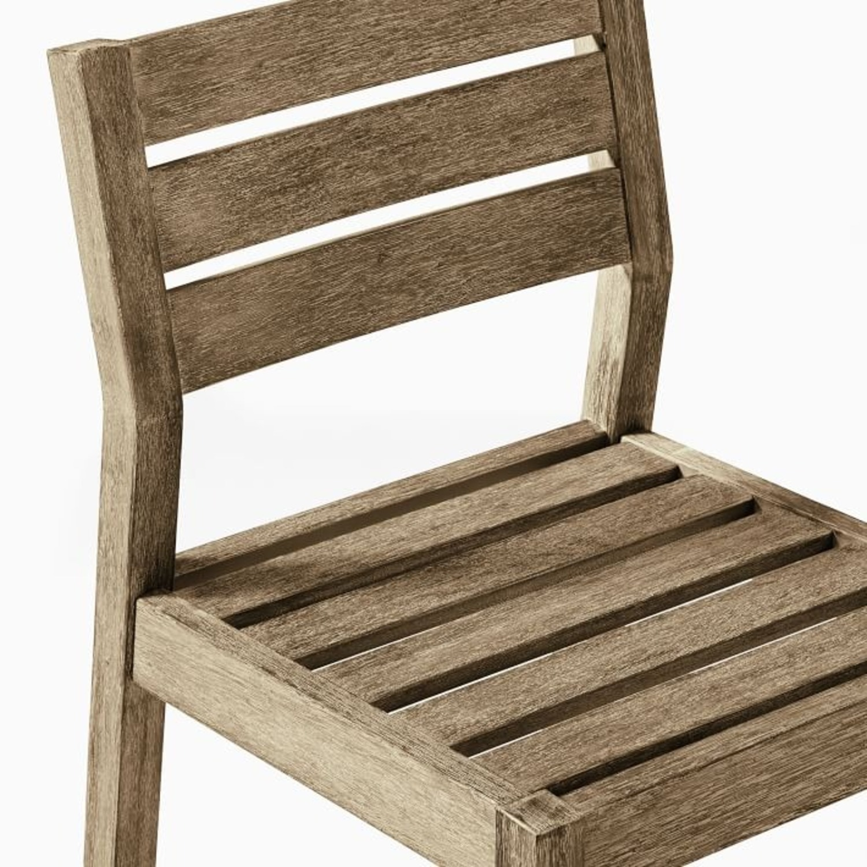 West Elm Portside Outdoor Dining Chair - AptDeco