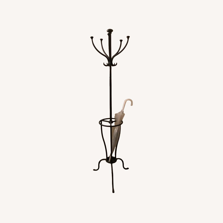 Pottery Barn Coat & Umbrella Stand - image-5
