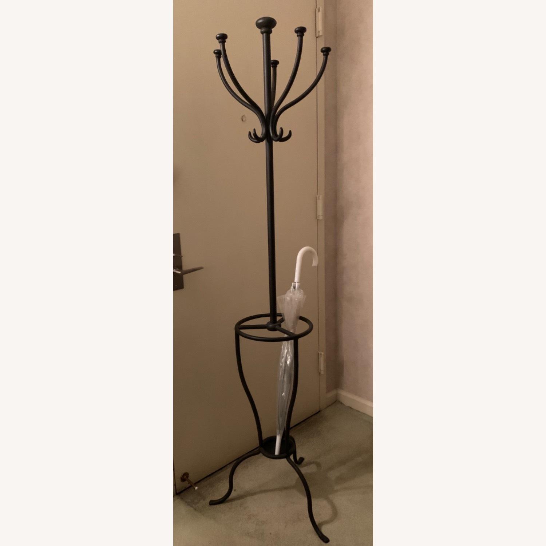 Pottery Barn Coat & Umbrella Stand - image-1