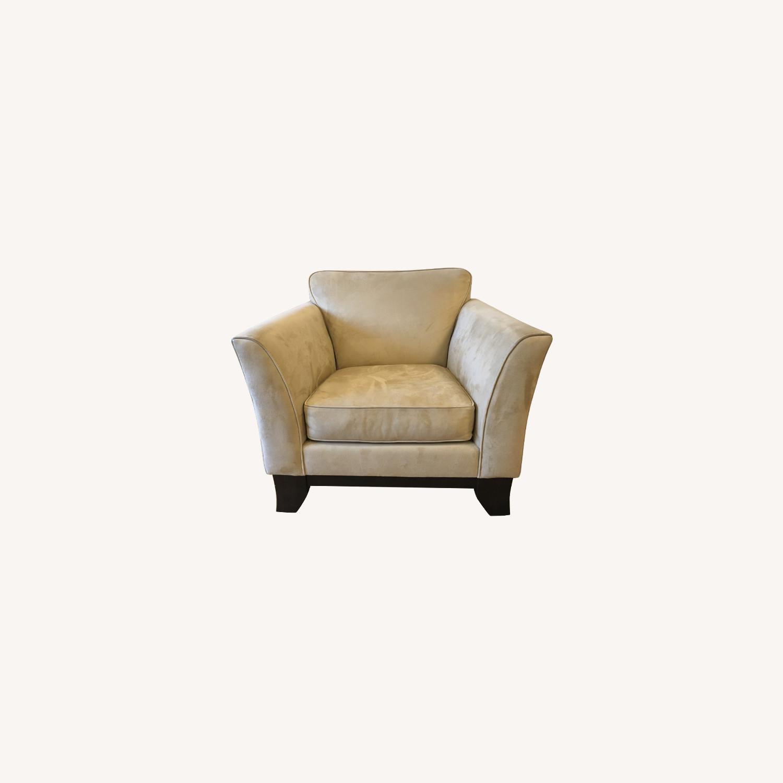 Pottery Barn Comfort Armchair - image-0