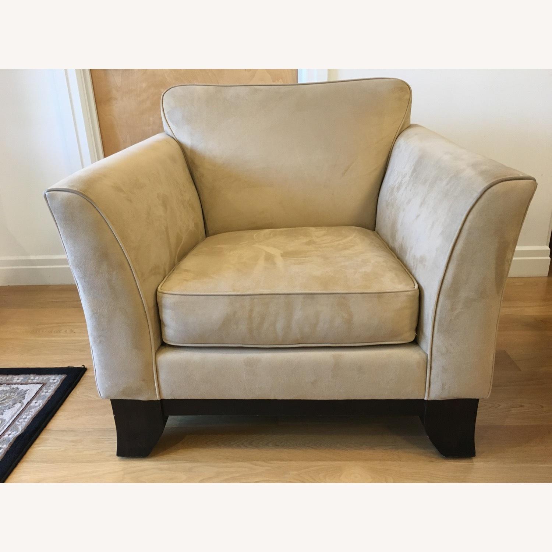 Pottery Barn Comfort Armchair - image-1