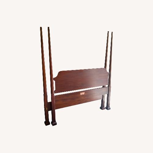 Used Henkel-Harris Bed Headboard mahogany for sale on AptDeco