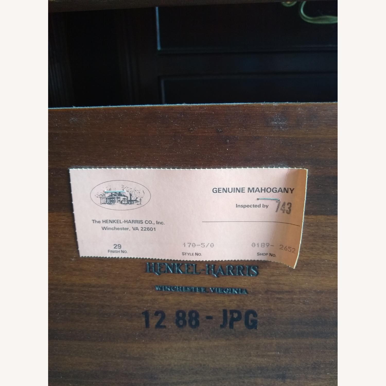 Henkel-Harris Bed Headboard mahogany - image-2