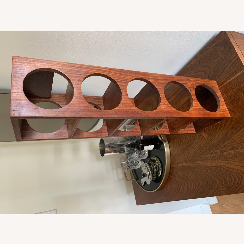 Crate & Barrel wall Mount / Stackable Wine Rack - image-14