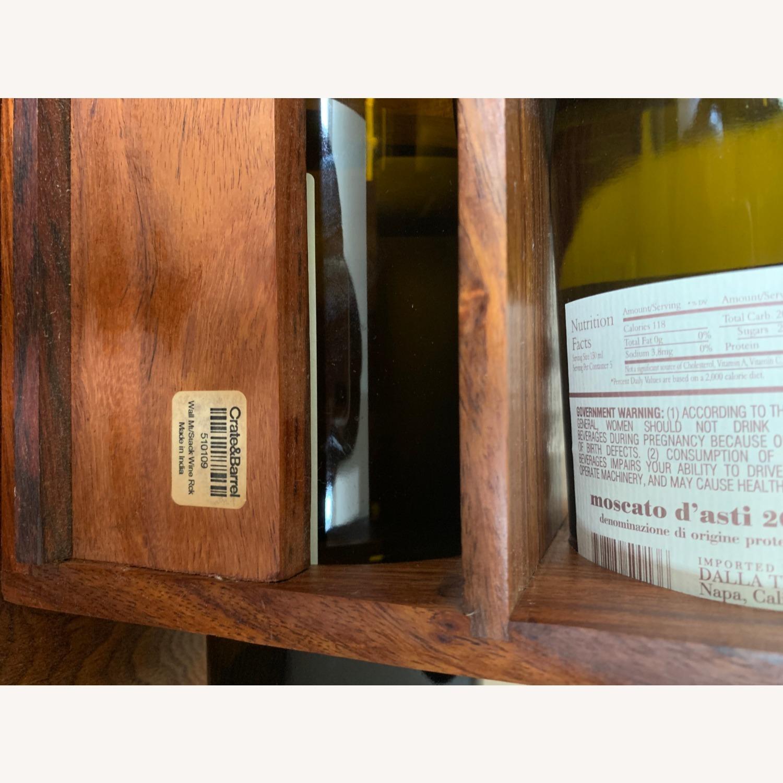 Crate & Barrel wall Mount / Stackable Wine Rack - image-15