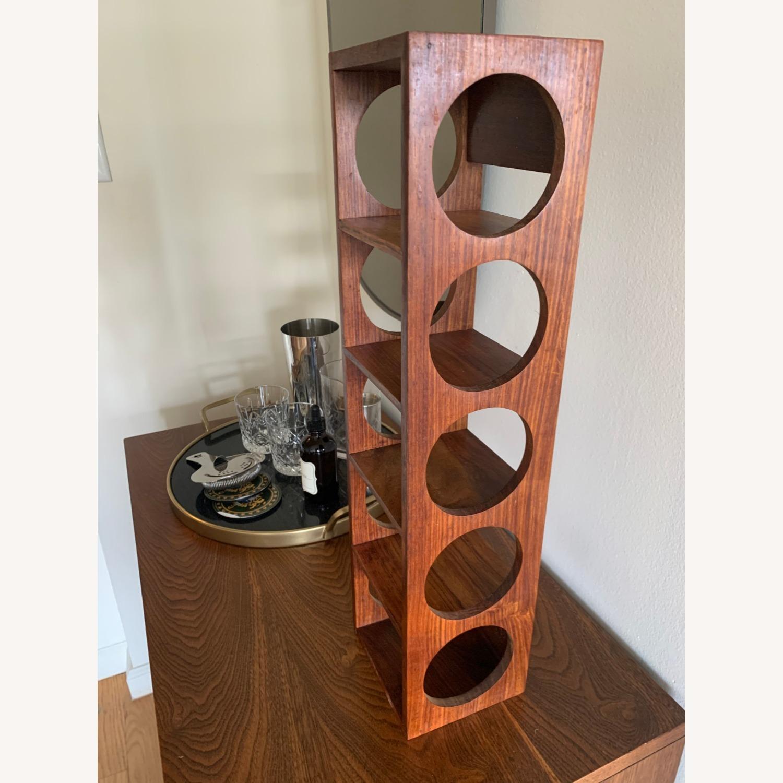 Crate & Barrel wall Mount / Stackable Wine Rack - image-3
