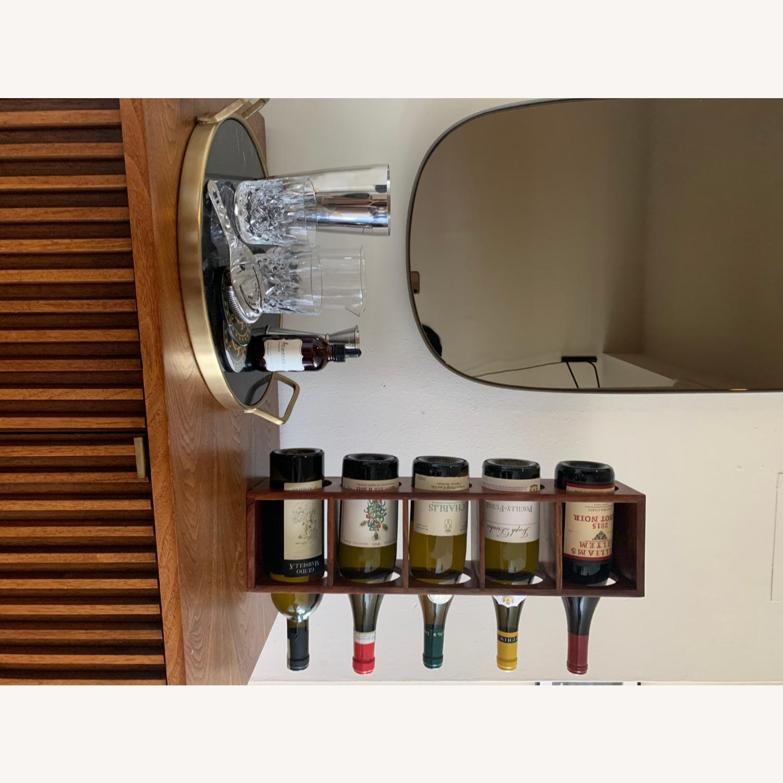 Crate & Barrel wall Mount / Stackable Wine Rack - image-12