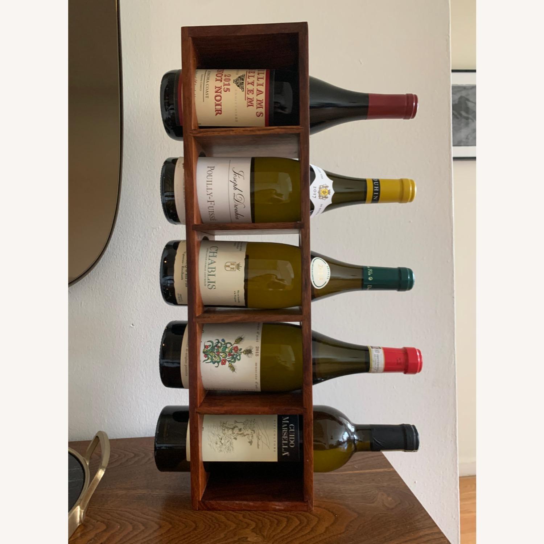 Crate & Barrel wall Mount / Stackable Wine Rack - image-6