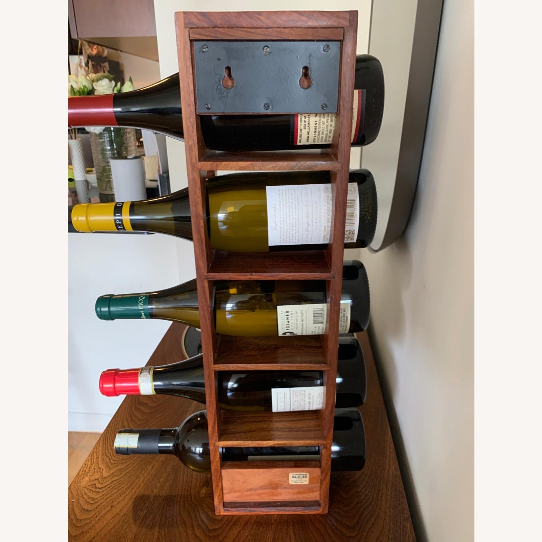 Crate & Barrel wall Mount / Stackable Wine Rack - image-7
