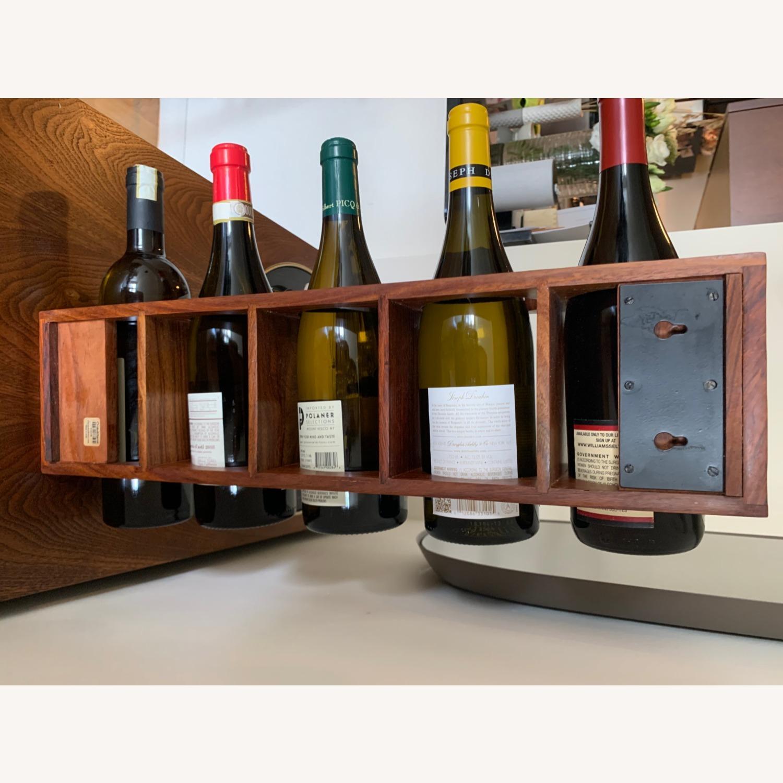 Crate & Barrel wall Mount / Stackable Wine Rack - image-13