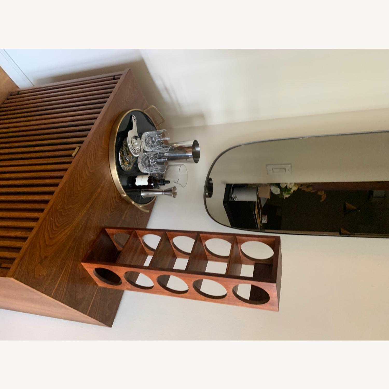 Crate & Barrel wall Mount / Stackable Wine Rack - image-10