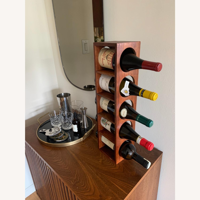 Crate & Barrel wall Mount / Stackable Wine Rack - image-5