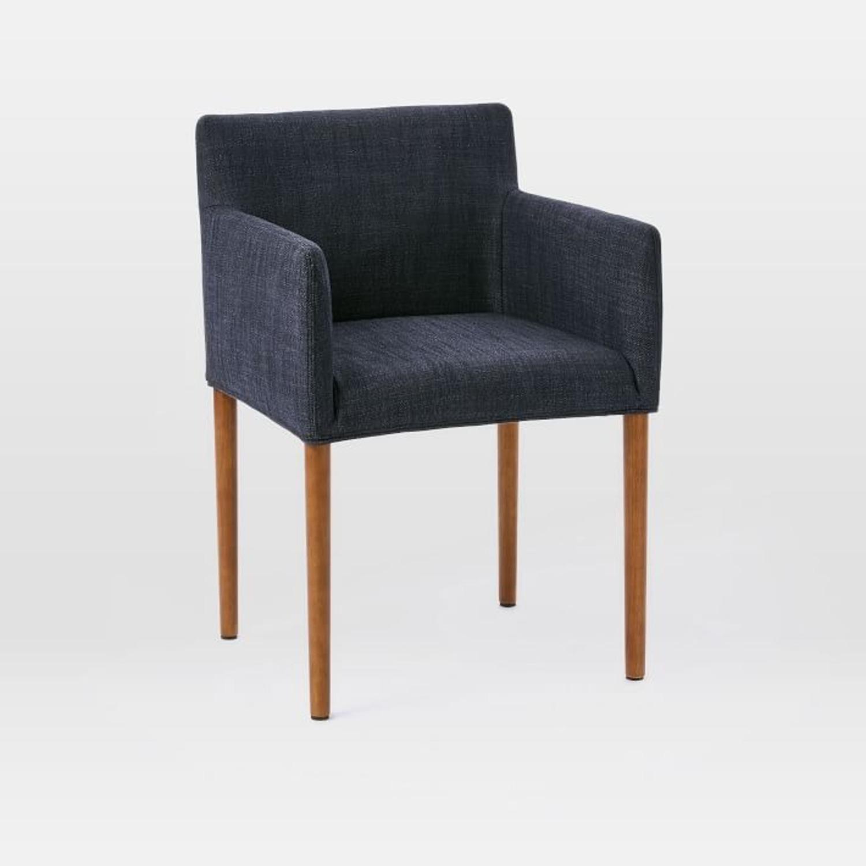 West Elm Ellis Upholstered Arm Chair - image-1