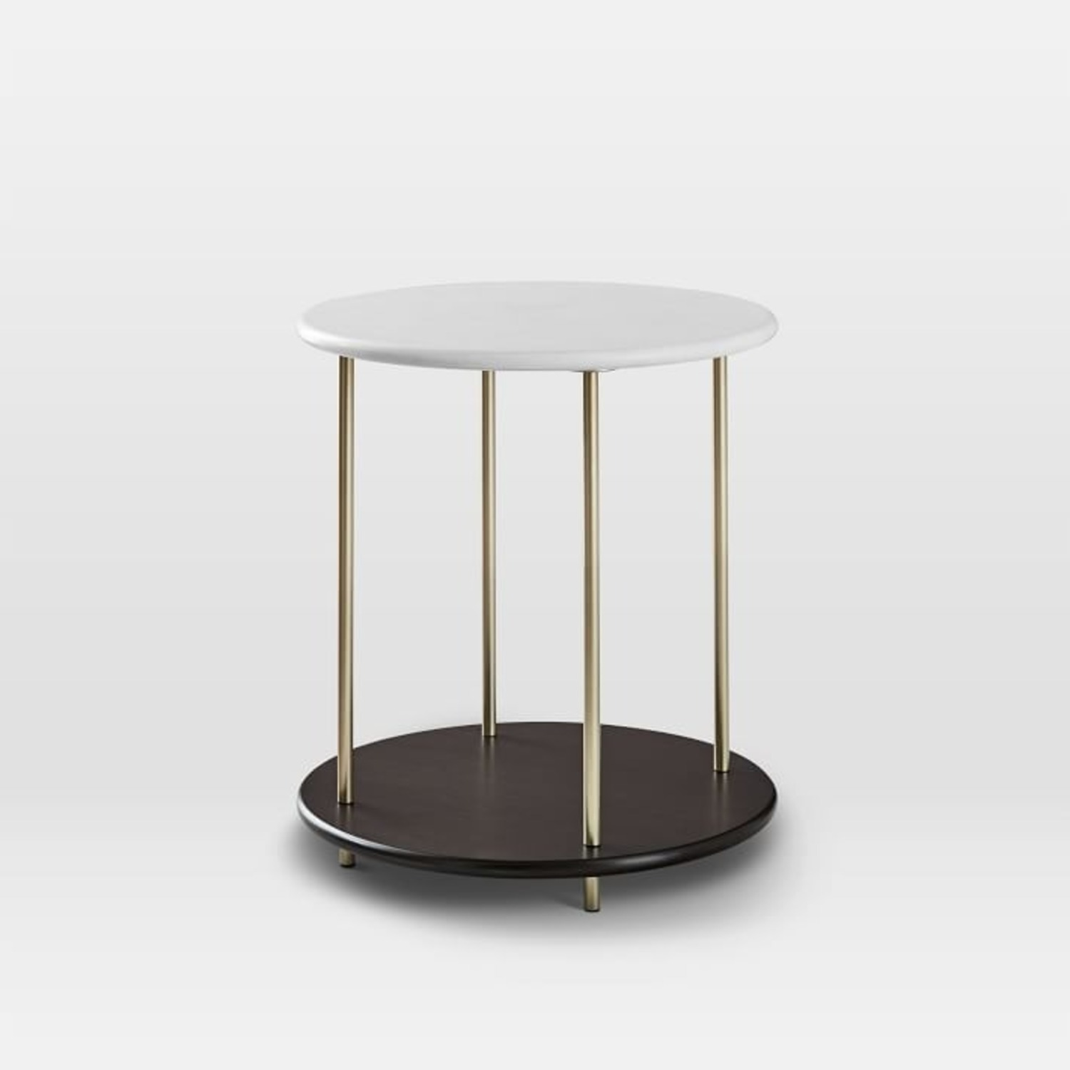 West Elm Tiered Side Table - image-1