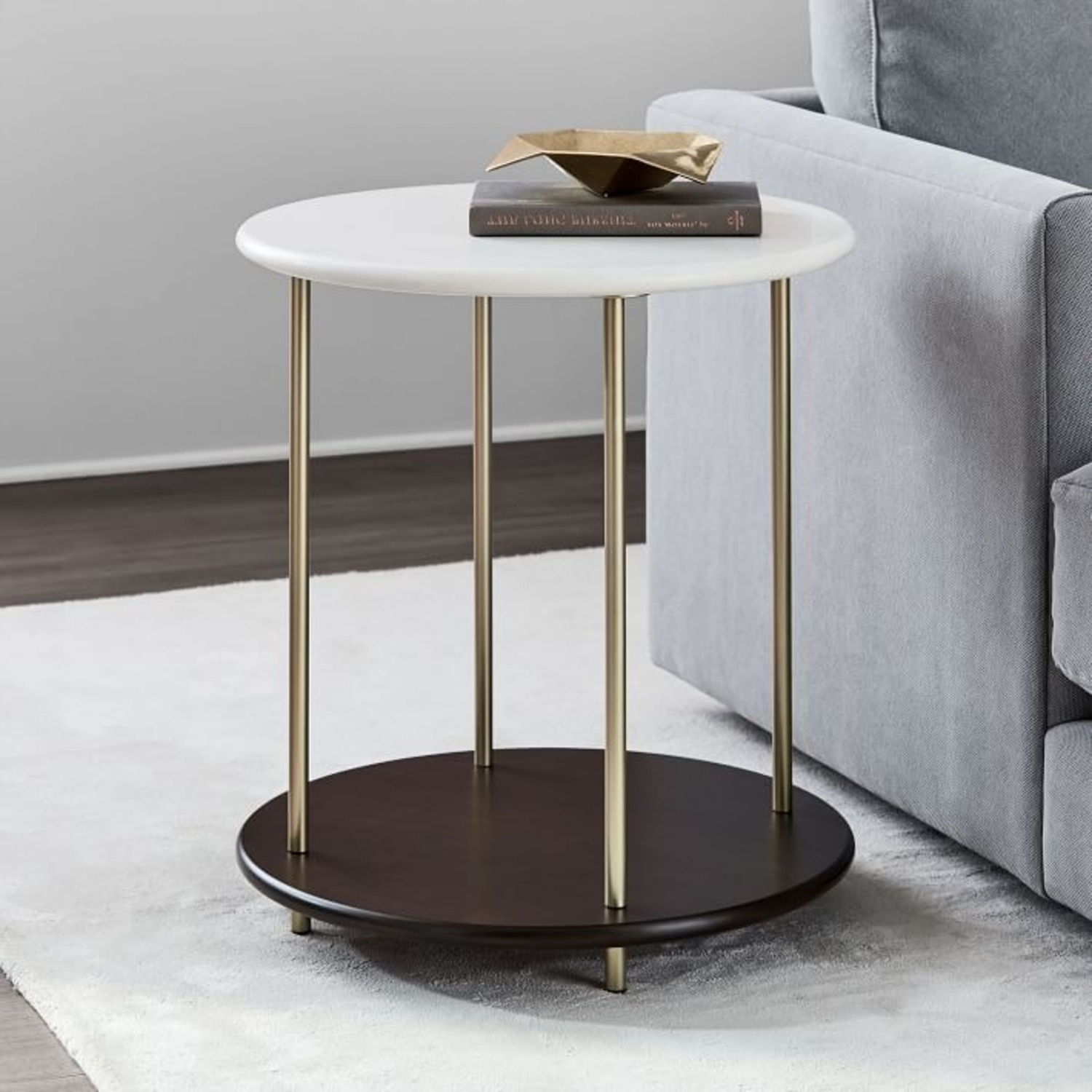 West Elm Tiered Side Table - image-2