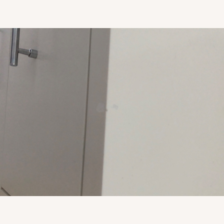 West Elm Modern Narrow Tall Dresser w Mirror White - image-6