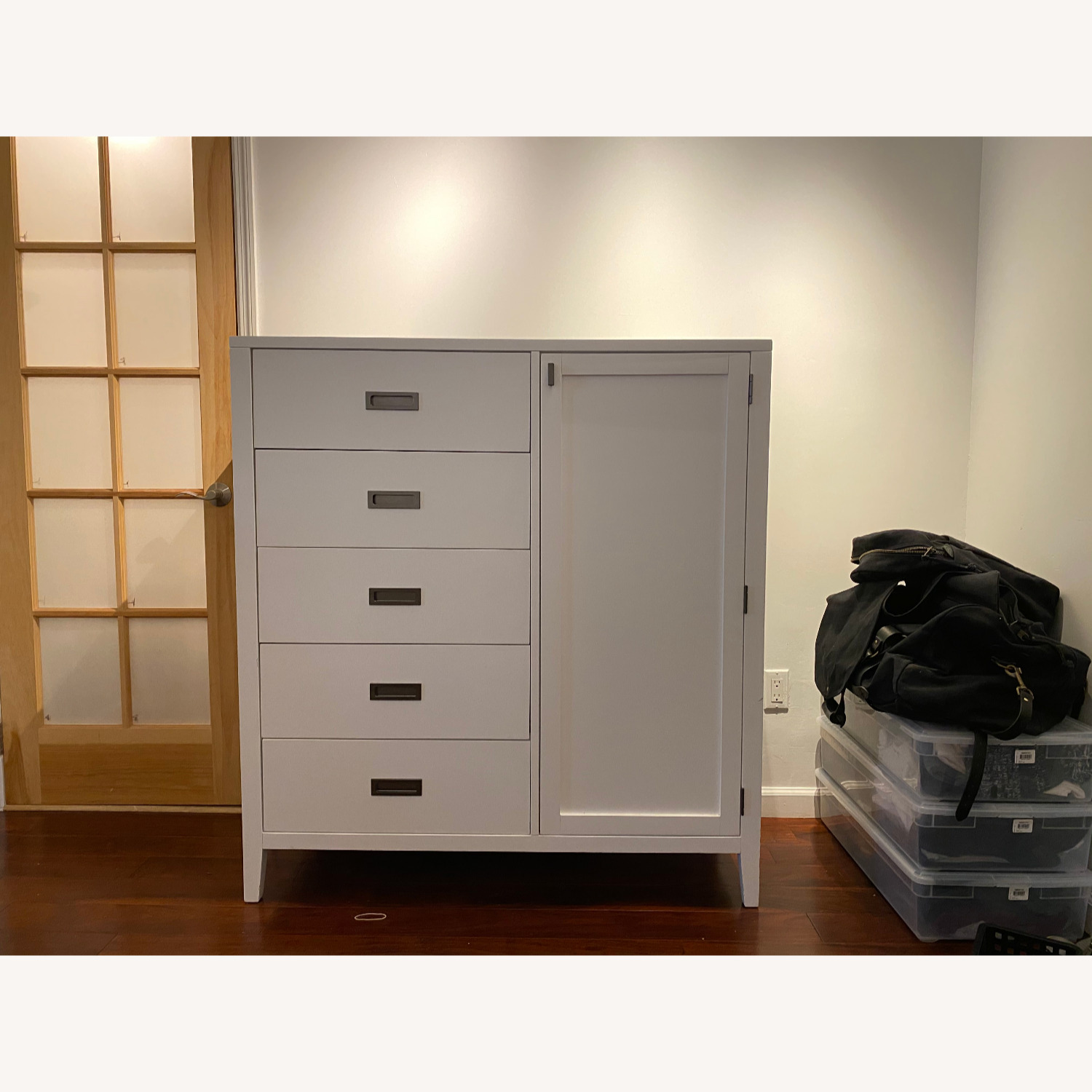 Crate and Barrel Arch Wardrobe / Dresser - image-1