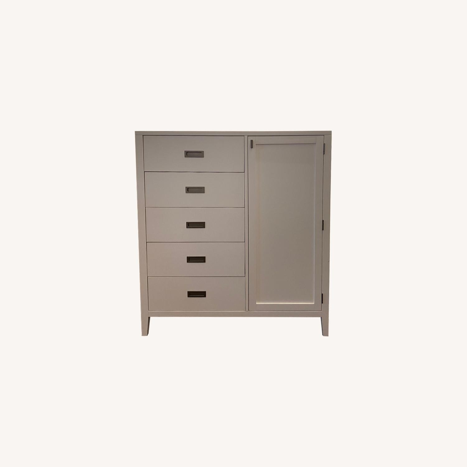 Crate and Barrel Arch Wardrobe / Dresser - image-0