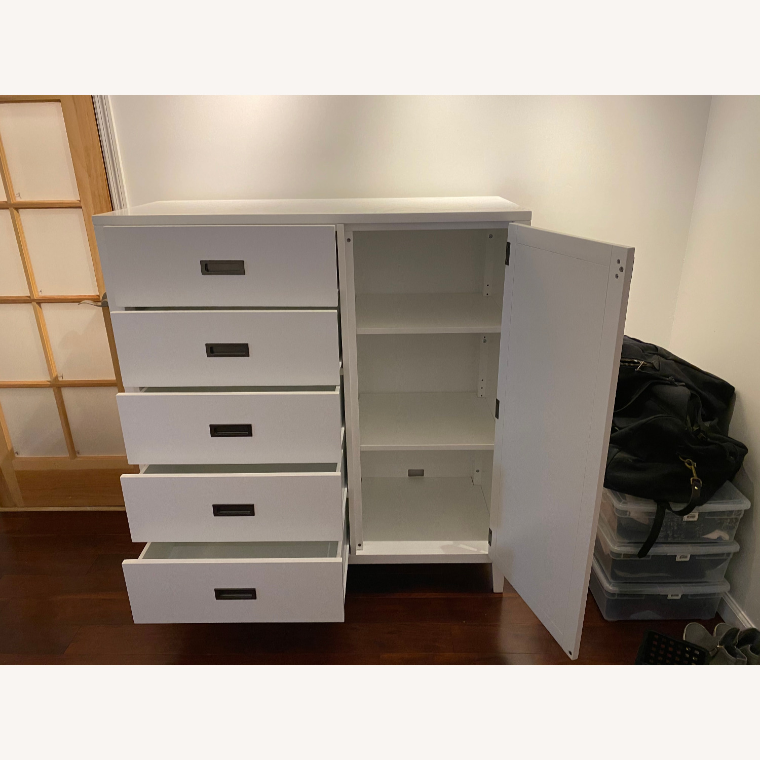 Crate and Barrel Arch Wardrobe / Dresser - image-3
