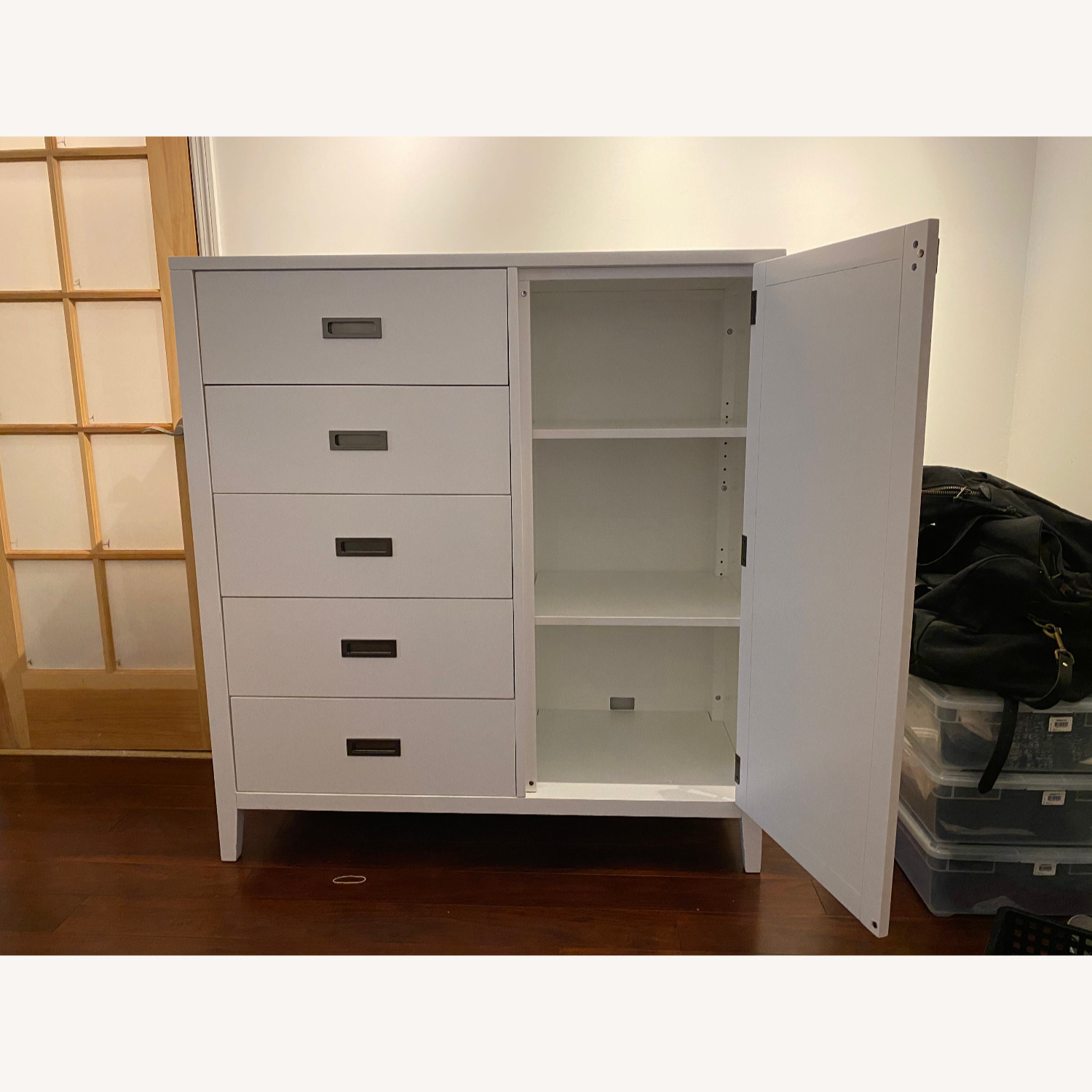 Crate and Barrel Arch Wardrobe / Dresser - image-2