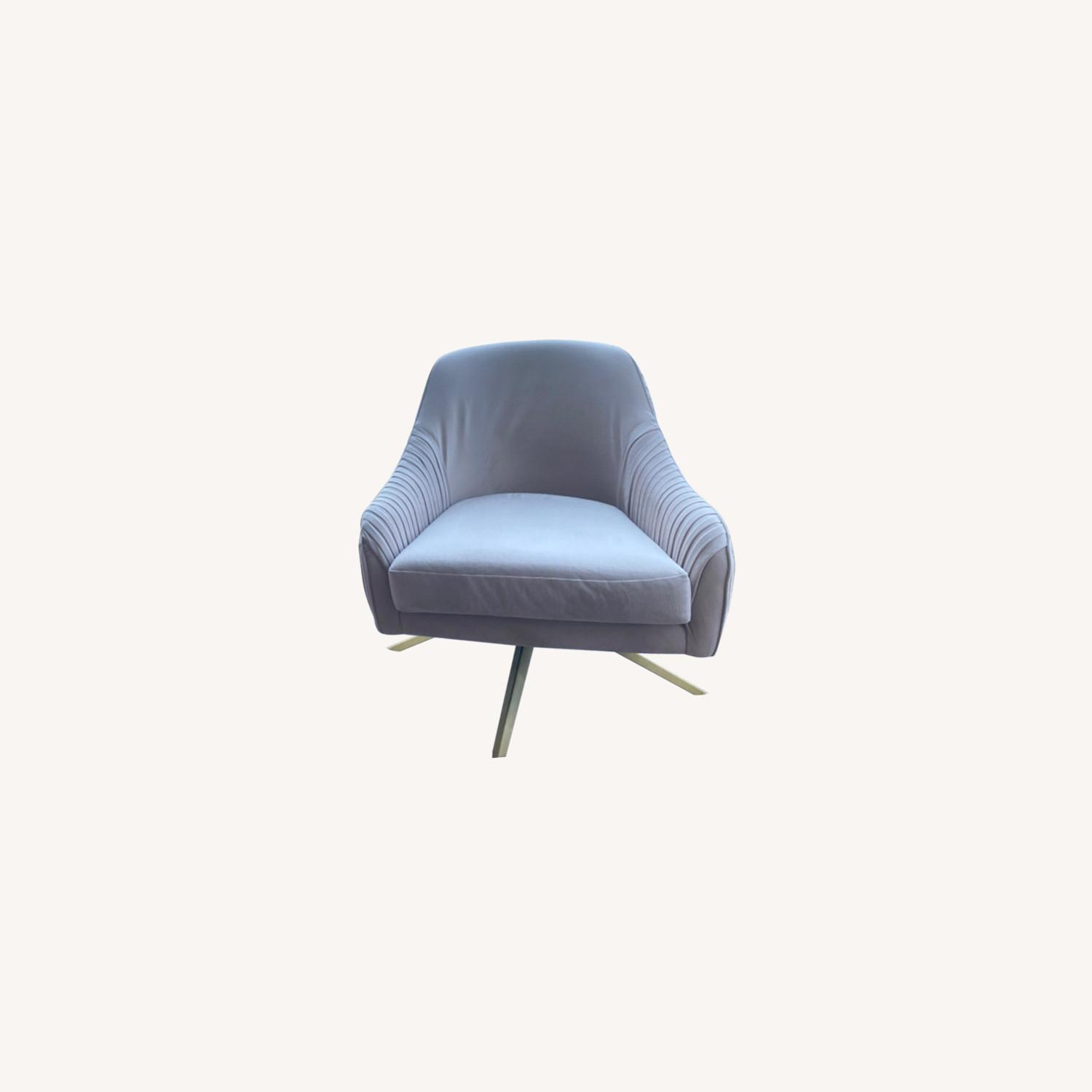 West Elm Blush Chairs - image-0
