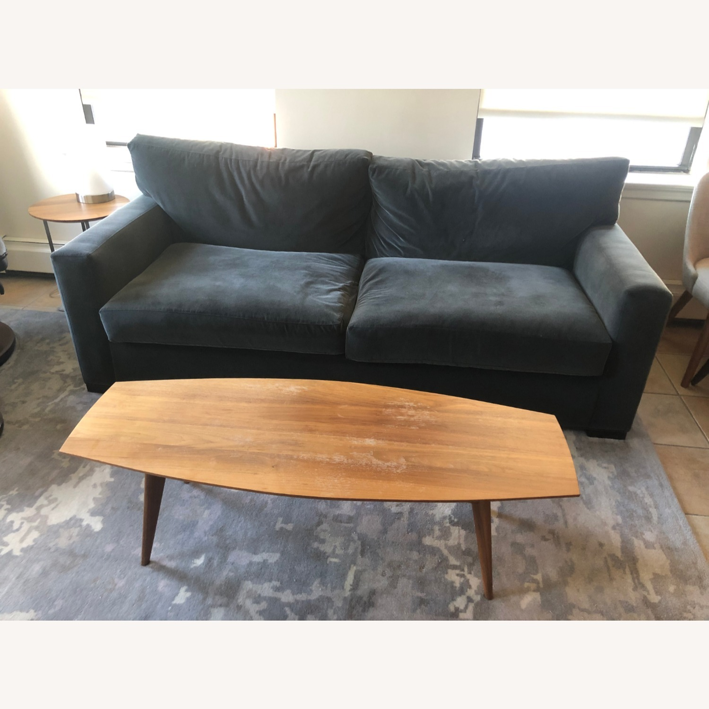 Crate and Barrel Axis II 3-seat 2-cushion Sofa - image-1