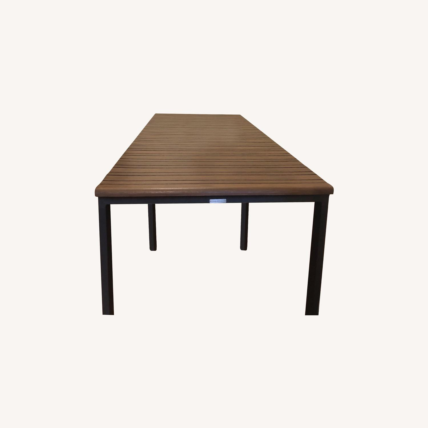 Crate & Barrel Outdoor Rocha Dining Table - image-8
