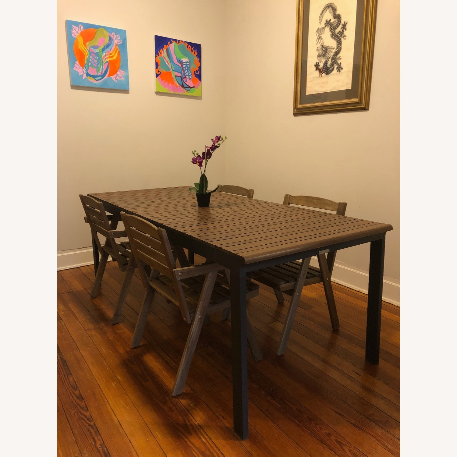 Crate & Barrel Outdoor Rocha Dining Table - image-2