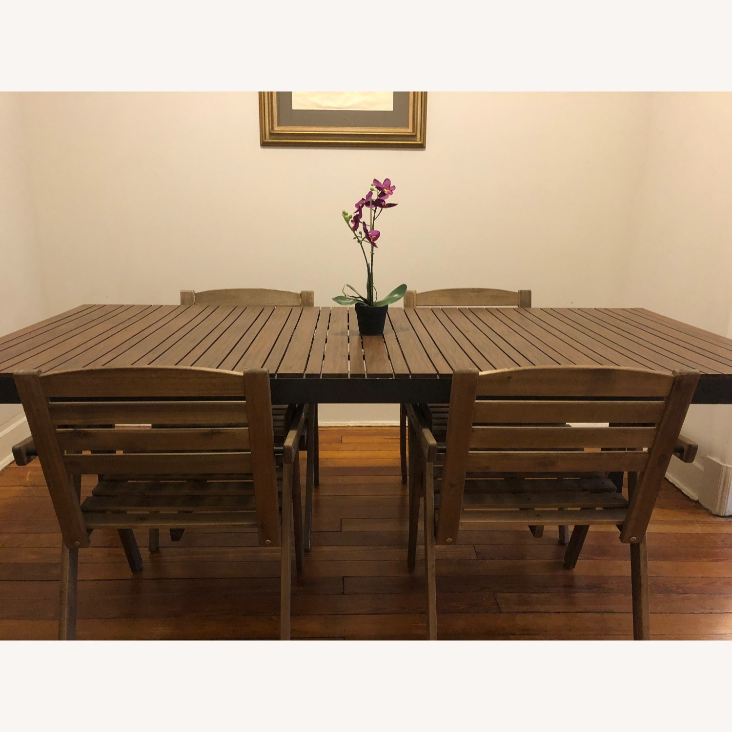 Crate & Barrel Outdoor Rocha Dining Table - image-6