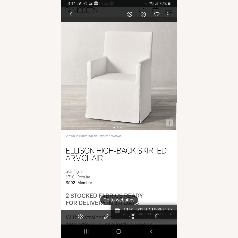 Restoration Hardware Ellison High Dining Chairs (6) - image-3